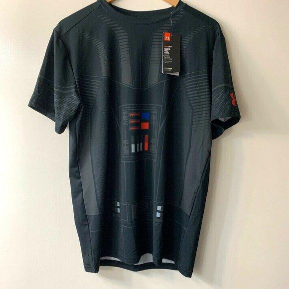 paralelo cómodo Manual  Under Armour Shirts | Ua Star Wars Alter Ego Darth Vader Shirt Nwt |  Poshmark